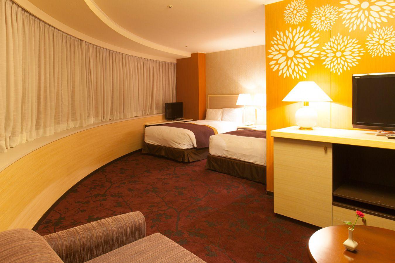 調布クレストンホテルの客室 デラックスツインルーム