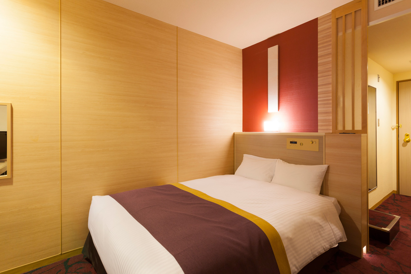 調布クレストンホテルの客室 ダブルルームA