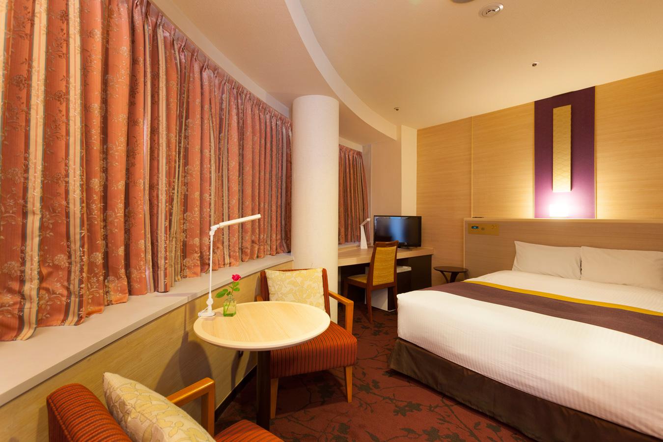 調布クレストンホテルの客室 ダブルルームB 禁煙タイプ