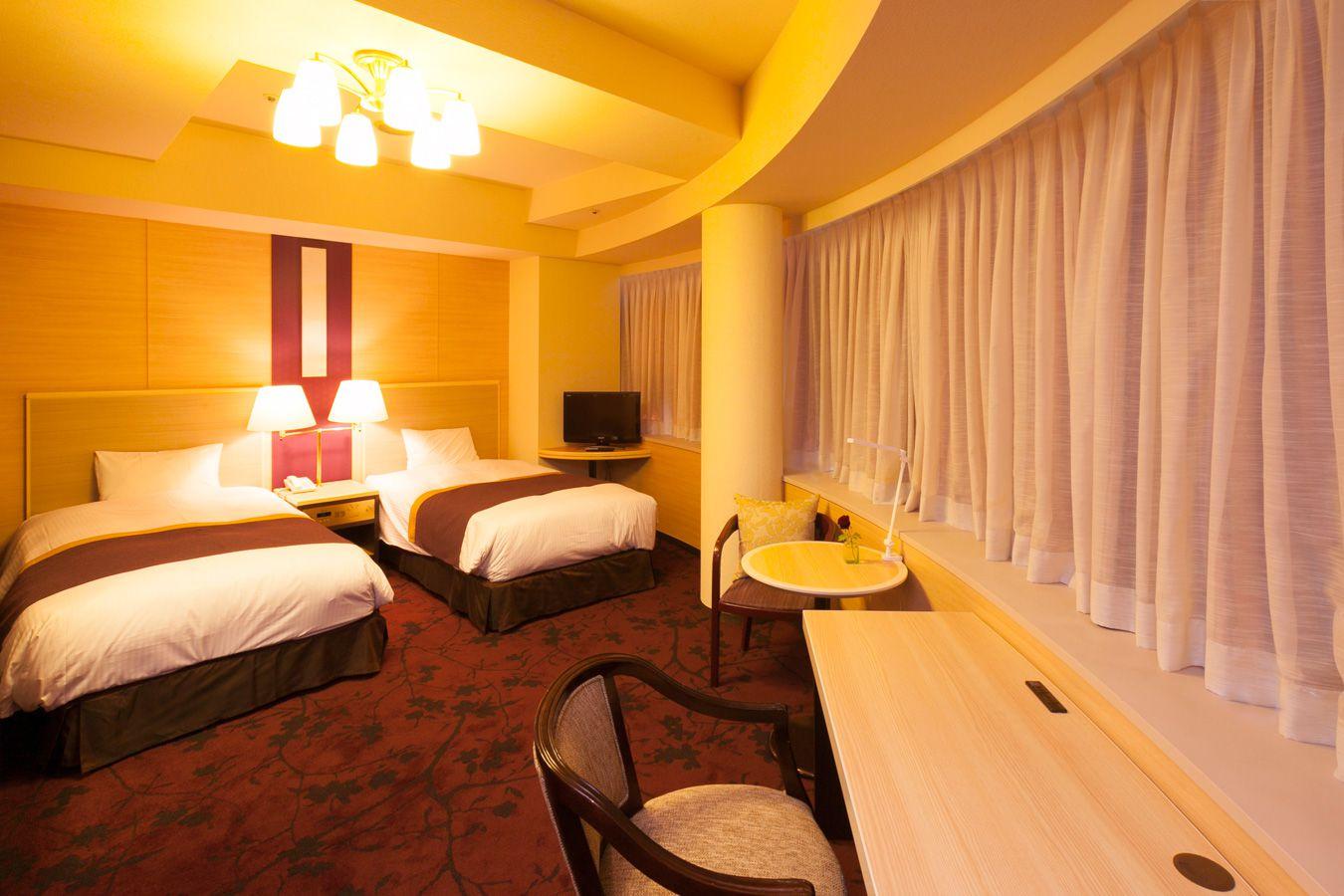 調布クレストンホテルの客室 ツインルームB 喫煙タイプ