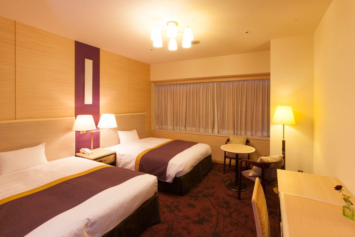 調布クレストンホテルの客室 ツインルームC 禁煙タイプ