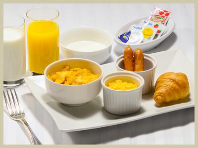 お子様用朝食