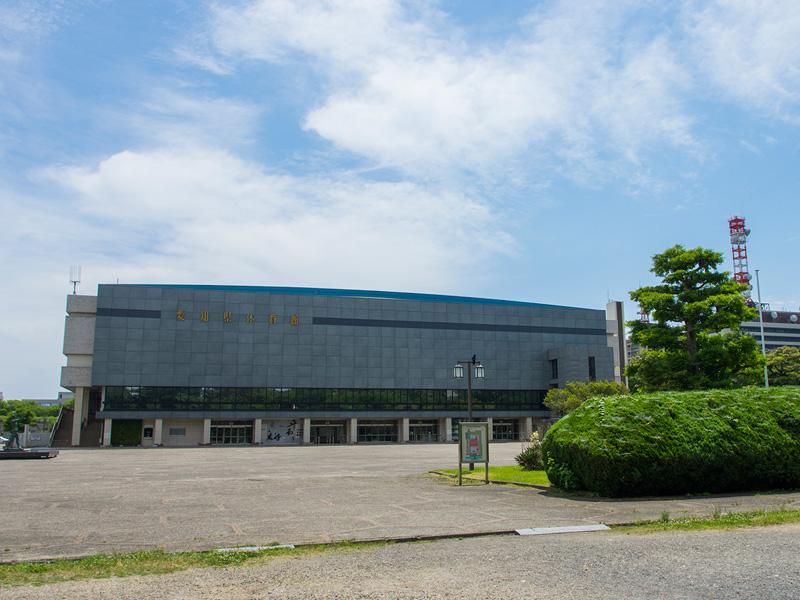 名古屋クレストンホテル周辺観光「愛知県体育館」