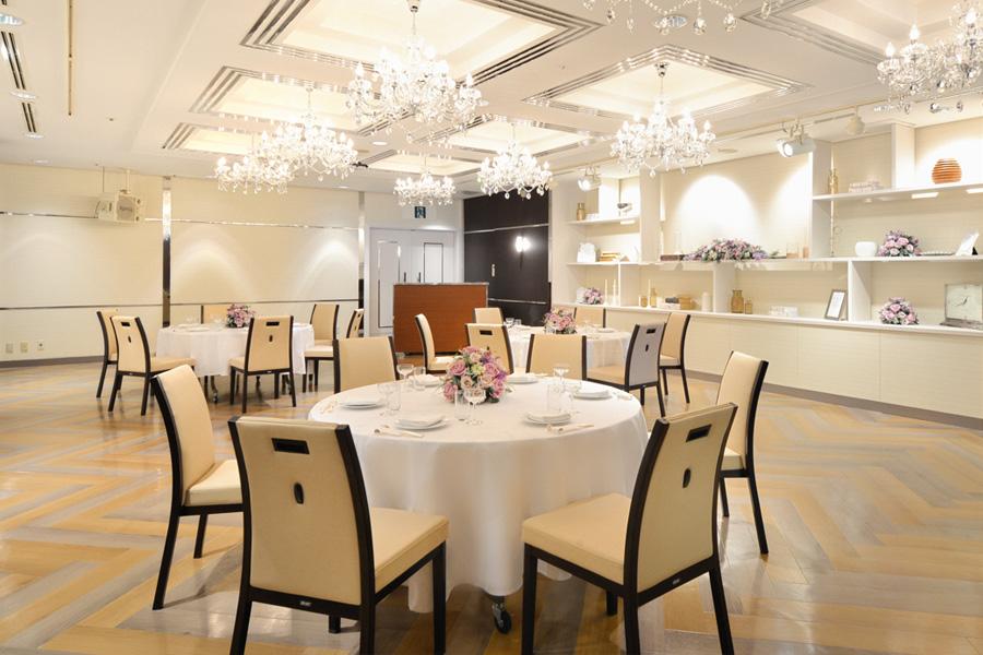 名古屋クレストンホテル宴会場「パレット」の正餐形式