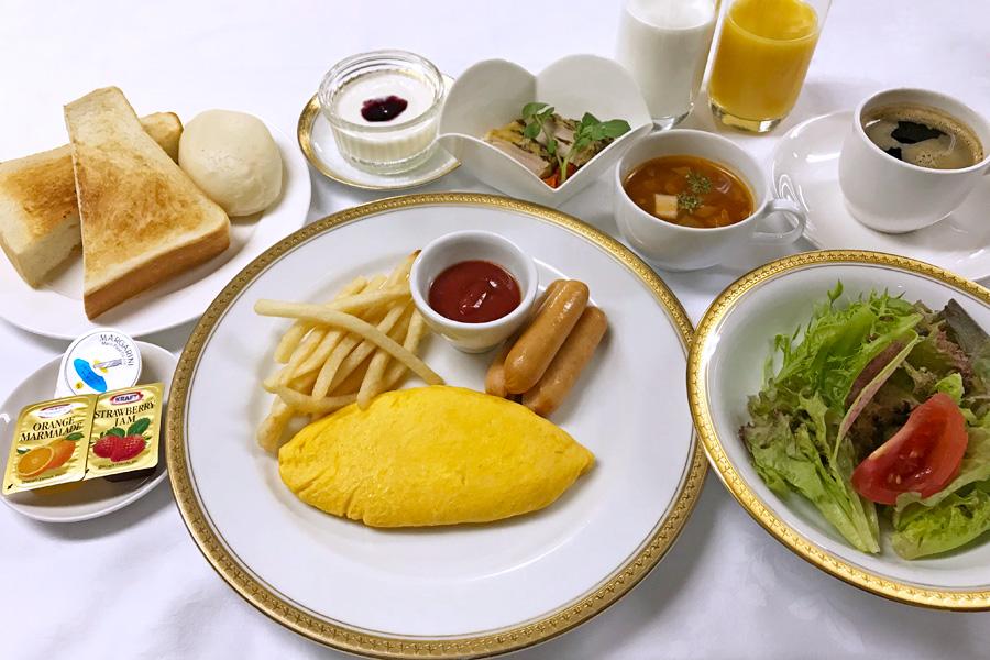 名古屋クレストンホテルの朝食「洋定食」