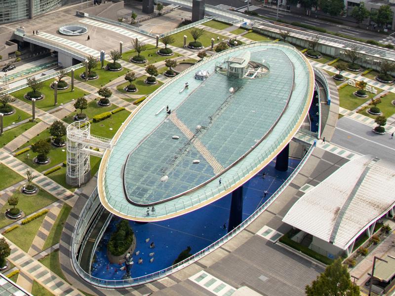 名古屋クレストンホテル周辺観光「オアシス21」