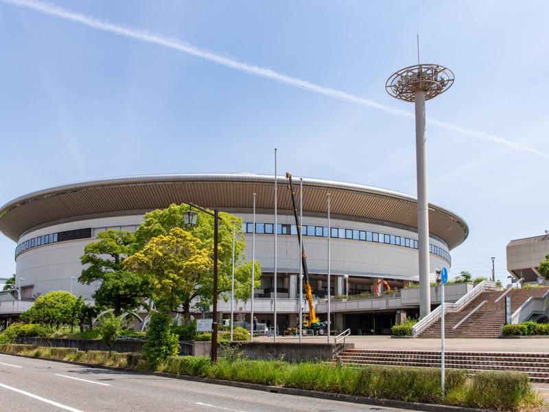 名古屋クレストンホテル周辺観光「日本ガイシスポーツプラザ(ガイシホール)」