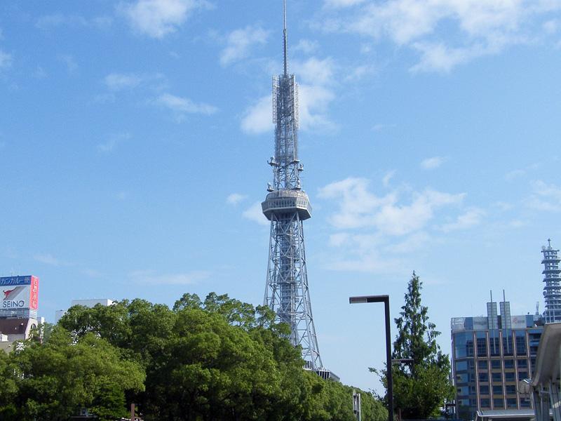 名古屋クレストンホテル周辺観光「テレビ搭」