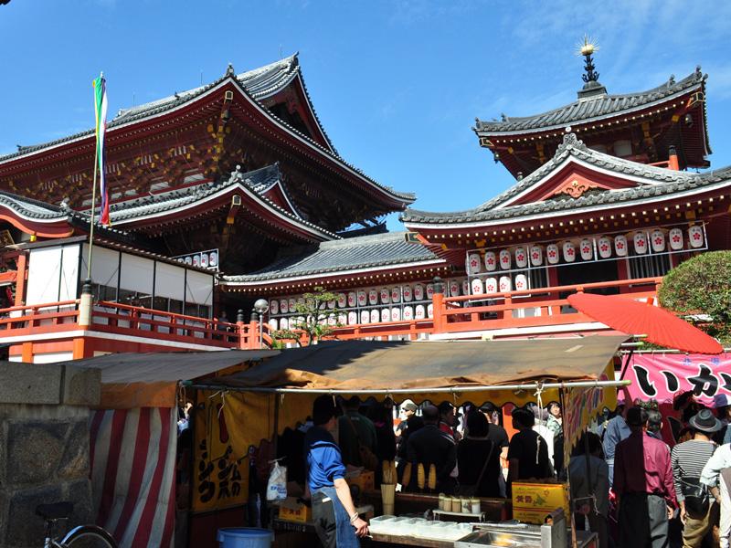 名古屋クレストンホテル周辺観光「北野山真福寺宝生院(大須観音)」