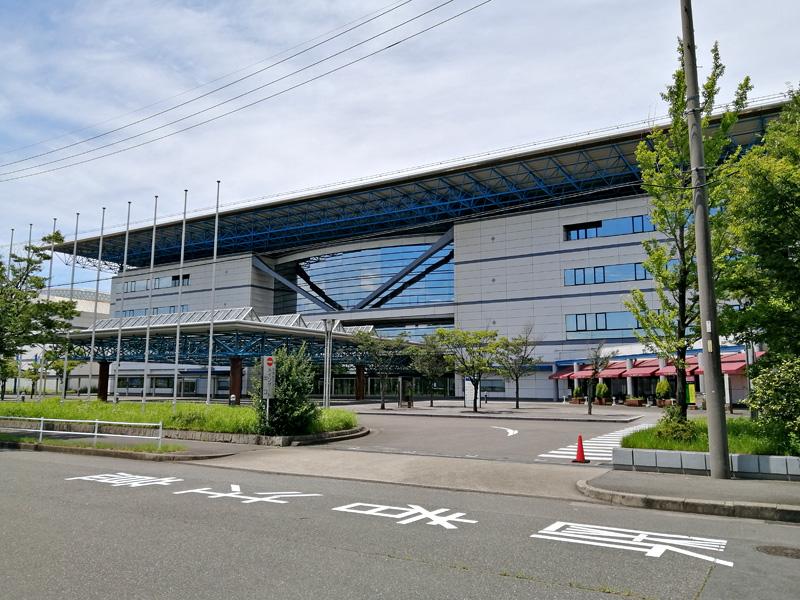 名古屋クレストンホテル周辺観光「ポートメッセなごや 名古屋国際展示場」